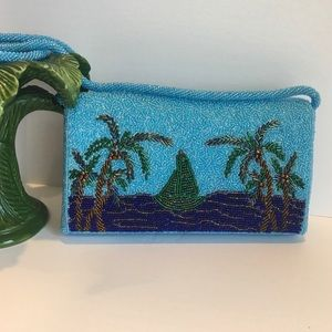 💙 Maui by Design beaded bag 💙. NWOT